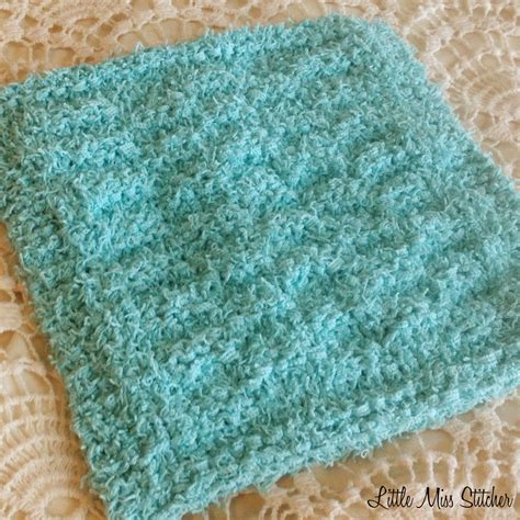 dishcloth knitting patterns miss stitcher 5 free knit dishcloth patterns