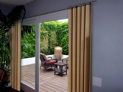 curtains for patio sliding doors decorative curtains in doorways by your own ideas