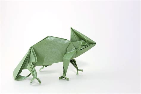 origami chameleon origami reptiles page 1 of 2 gilad s origami page