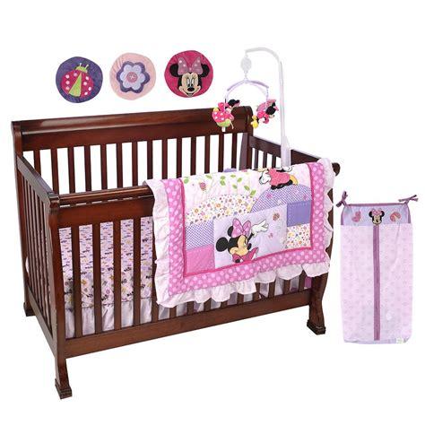 disney minnie mouse 8 crib bedding set minnie mouse crib sets and nursery decor