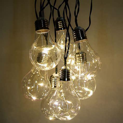 led string light bulbs led string light bulbs ove decors 48 ft 24 oversized