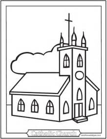 church for adults 150 catholic coloring pages sacraments rosary saints