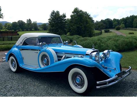 Mercedes Classic Cars by 1936 Mercedes 540k For Sale Classiccars Cc