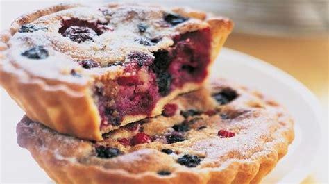 recette tarte amandine aux fruits rouges recettes les desserts picard