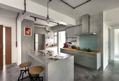 Pink Retro Kitchen Collection 15 singapore homes so beautiful you won t believe they re