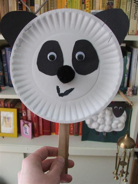 panda paper plate craft observational drawing 4 pandas 171 robin hill gardens
