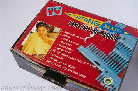 handheld knitting machine knitting mate knitting machine vintage stuff