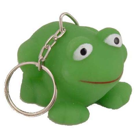frog rubber st rubber frog key chain 12 card