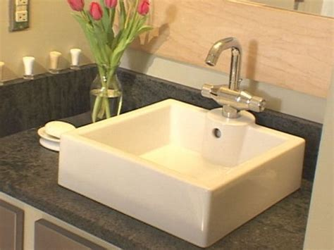 how to fit a kitchen sink how to install a bathroom countertop and vessel sink