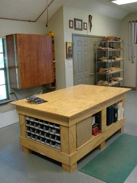woodworking shop table workshop organization vogel