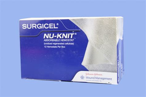 nu knit ethicon endo surgery 1946 surgicel nu knit absorbable
