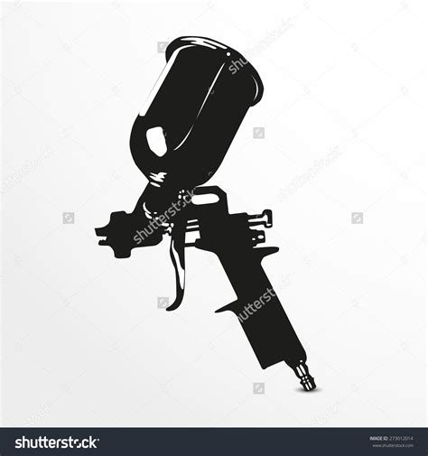 spray painter vector spray gun clipart 71