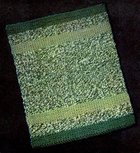 knitting rugs free patterns variegated knitted rug knitting patterns