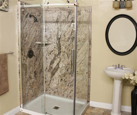 bathroom shower wall material are shower wall panels cheaper than tile 7 factors you