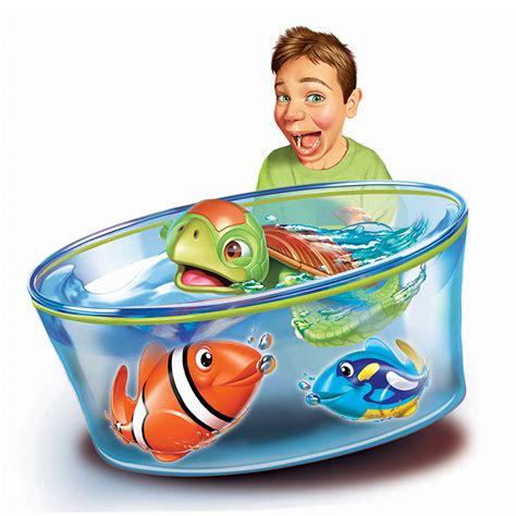 robo fish play set electronic toys b m