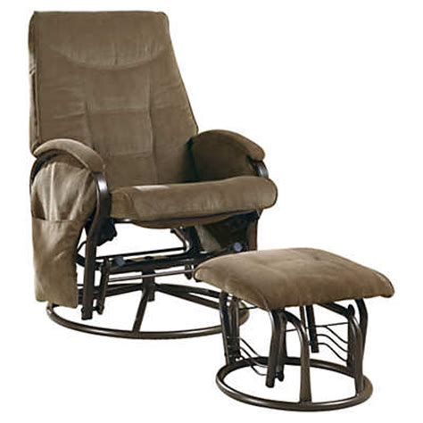 swivel rockers with ottomans chenille swivel rocker recliner with ottoman smart furniture