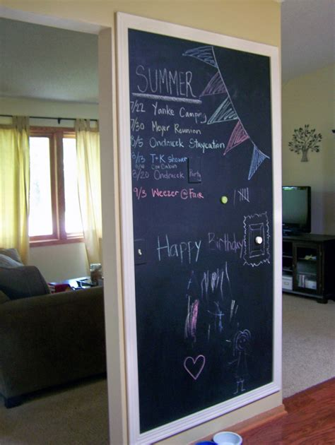 chalkboard wall painting tips 74 x 39 large framed chalkboard mirrorlot