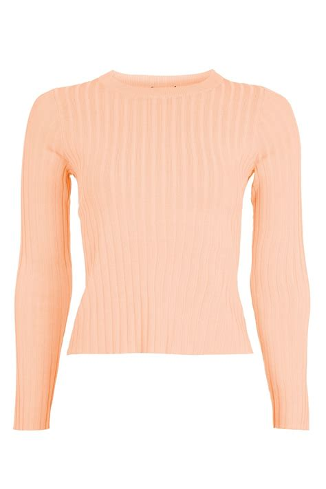 knitted crop top guage back knitted crop top topshop