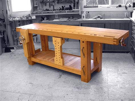 build woodworking workbench benchcrafted split top roubo bench build page 17