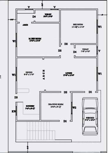 house floor plans india inspiring 20 x 60 house plan design india arts for sq ft
