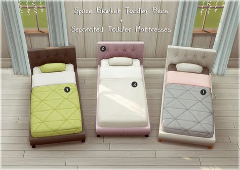 toddler bed furniture my sims 4 space blanket toddler bed frame and