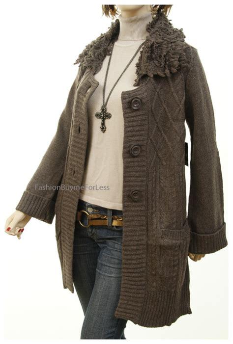 knit sweater jacket catalog wool angora cable knit cardigan
