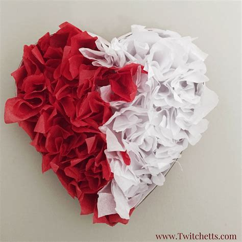 tissue paper crafts tissue paper s day decorations twitchetts