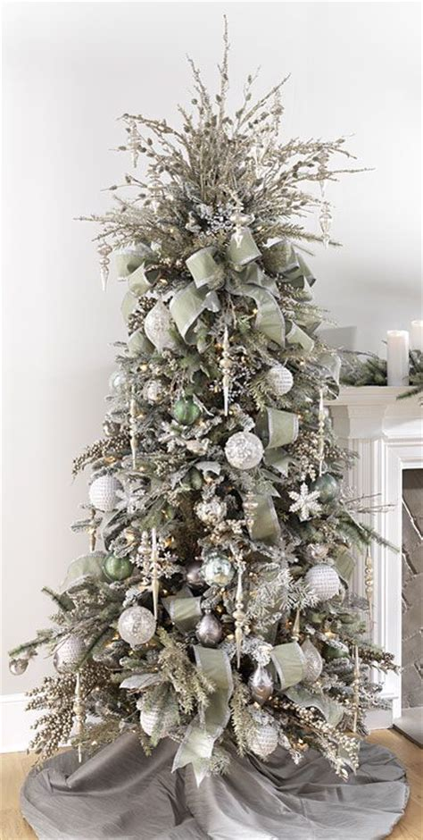 tree decorated images 25 unique silver tree ideas on