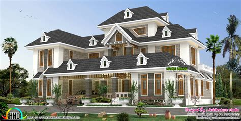 colonial style home design in kerala colonial style house plans in kerala house and home design