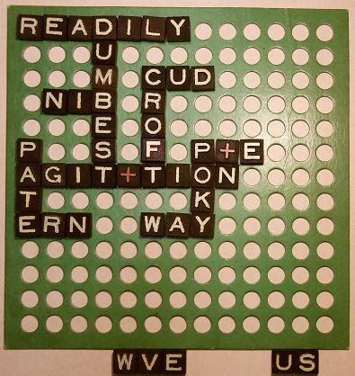 scrabble gram puzzles anex a gram an early scrabble