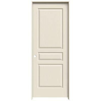interior panel doors home depot jeld wen textured 3 panel primed molded single prehung interior door thdjw136400058 the home depot