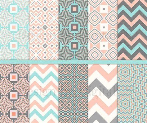 12x12 craft paper geometric digital paper pack tribal digital paper 12x12