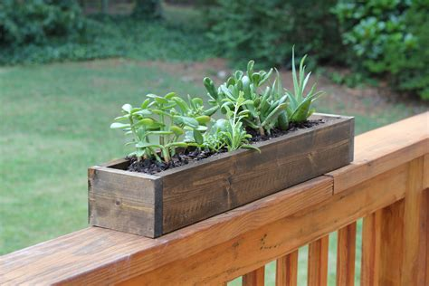 apartment diy build your own planter box rent