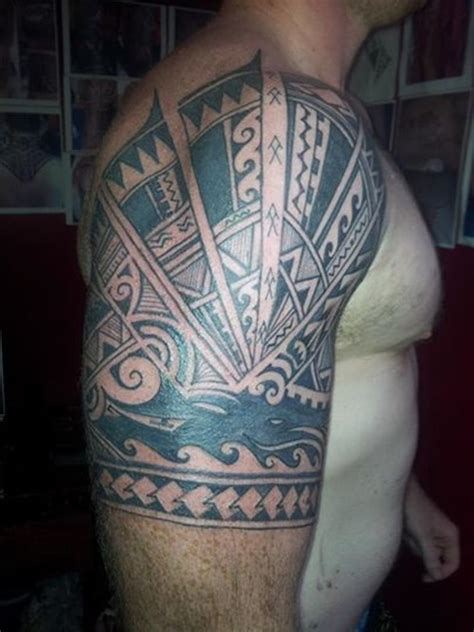 23 stunning tribal half sleeve tattoos only tribal
