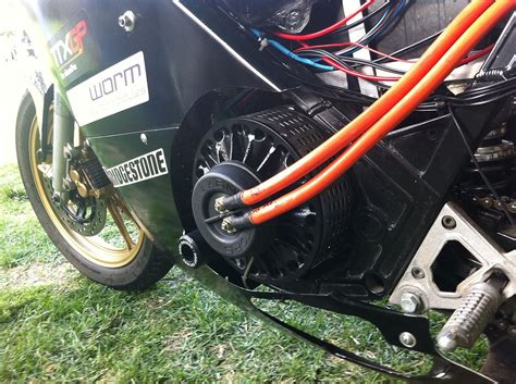 Electric Motorcycle Motor by Lynch Motor
