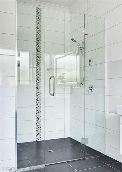 standard glass shower door frameless shower doors shower solutions