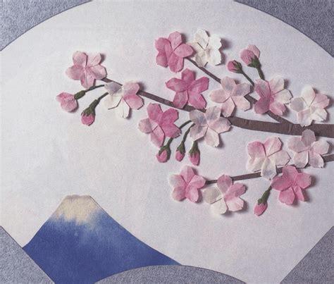 origami cherry blossom origami cherry blossom tutorial paper kawaii