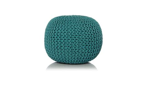 asda knitted pouffe knitted pouffe home garden george at asda