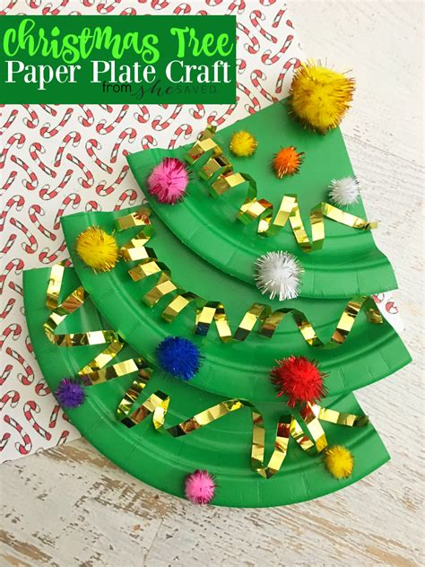 paper plate tree easy paper plate tree craft shesaved 174
