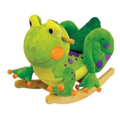 stuffed animal rocker charm plush fergie frog rocker 210682 toys at