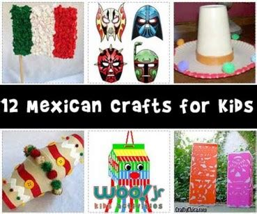 hispanic crafts for mexican flag archives woo jr activities