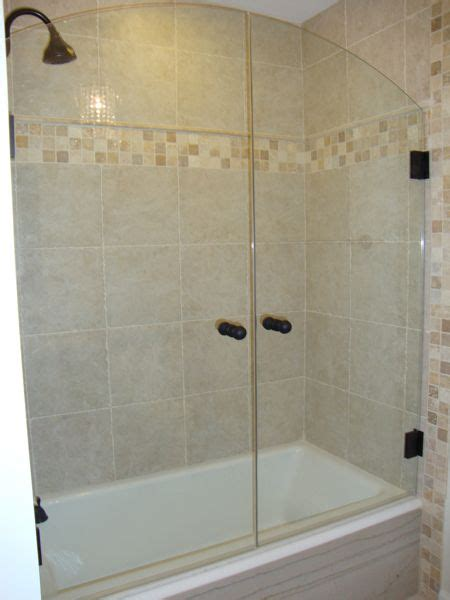 shower glass for bath tub shower combo shower doors and tub shower doors on