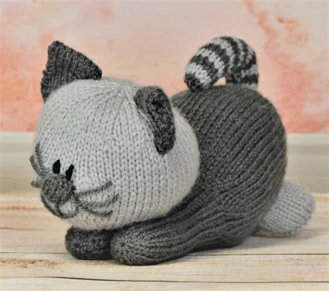 cat knitting playful kitten knitting by post