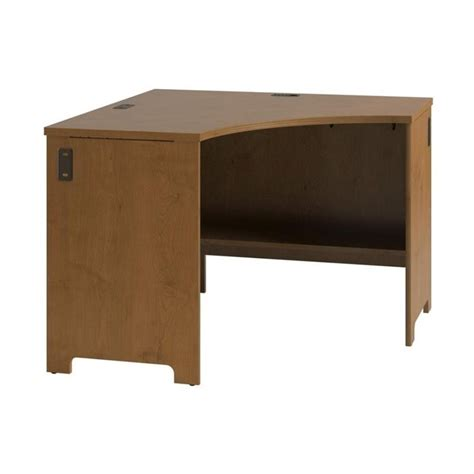 corner cherry desk bush envoy wood corner desk in cherry pr76320