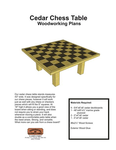 chess board plans woodworking diy chess table plans wooden pdf woodshop accessories tool