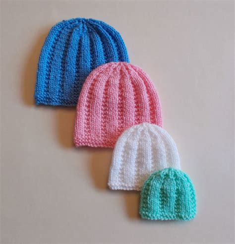 premature baby hats knitting patterns marianna s lazy days premature and newborn