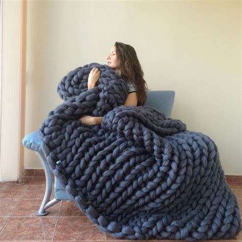 how to knit a large blanket 25 unique large knit blanket ideas on chunky