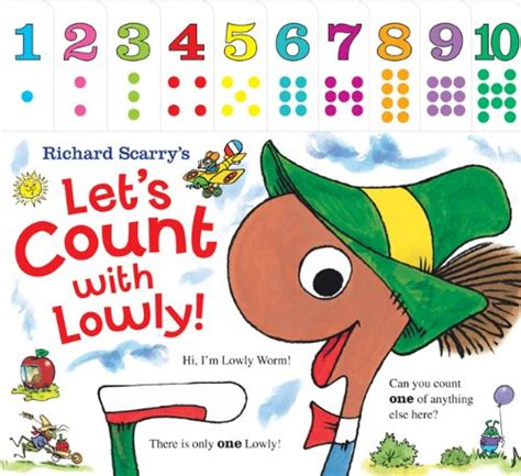 concept picture books richard scarry s let s count with lowly richard scarry s