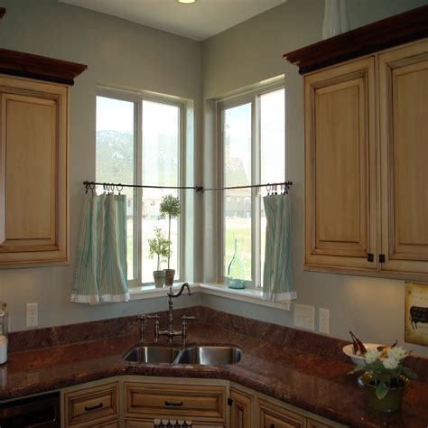 window treatments for kitchen windows sink curtain ideas for small kitchen window treatments with