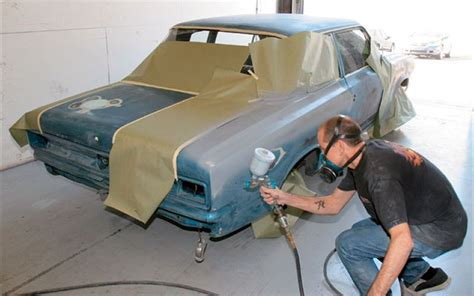 spray paint on cars the definitive guide to spray painting a car